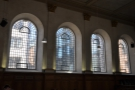The windows lining the nave are none too shaby either.