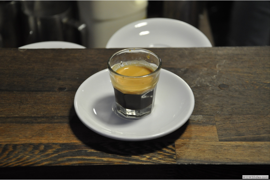 Another espresso. The lovely manager, Zuza, and I had a long discussion about coffee and she made me lots of samples to try. I drank them all, of course. It would have been rude not to!