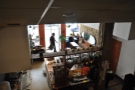 ... where there was an excellent view down onto the brew bar and counter area.