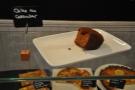 The caramel cake.