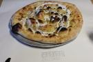 My starter: a garlic and rosemary flat bread.