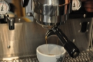 ... and 19 seconds later, some lovely espresso.