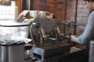 This is the beautfiul E61 espresso machine that I was captivated by in 2013...