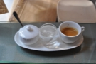And the result: the espresso was good, but the presentation might be the best I've had!