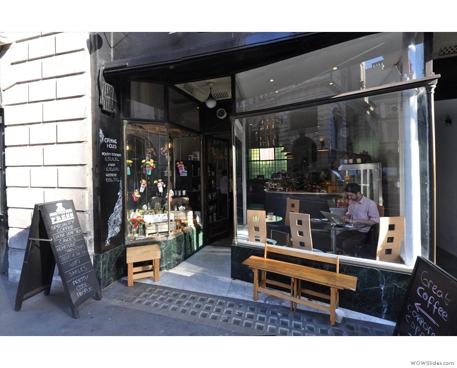 The Fleet Street Press, appropriately enough, on Fleet Street!