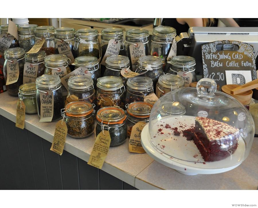 You know, I think The Fleet Street Press might do tea... And cake...