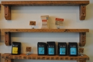 More coffee for sale: Stumptown (top) and Elixr (bottom).