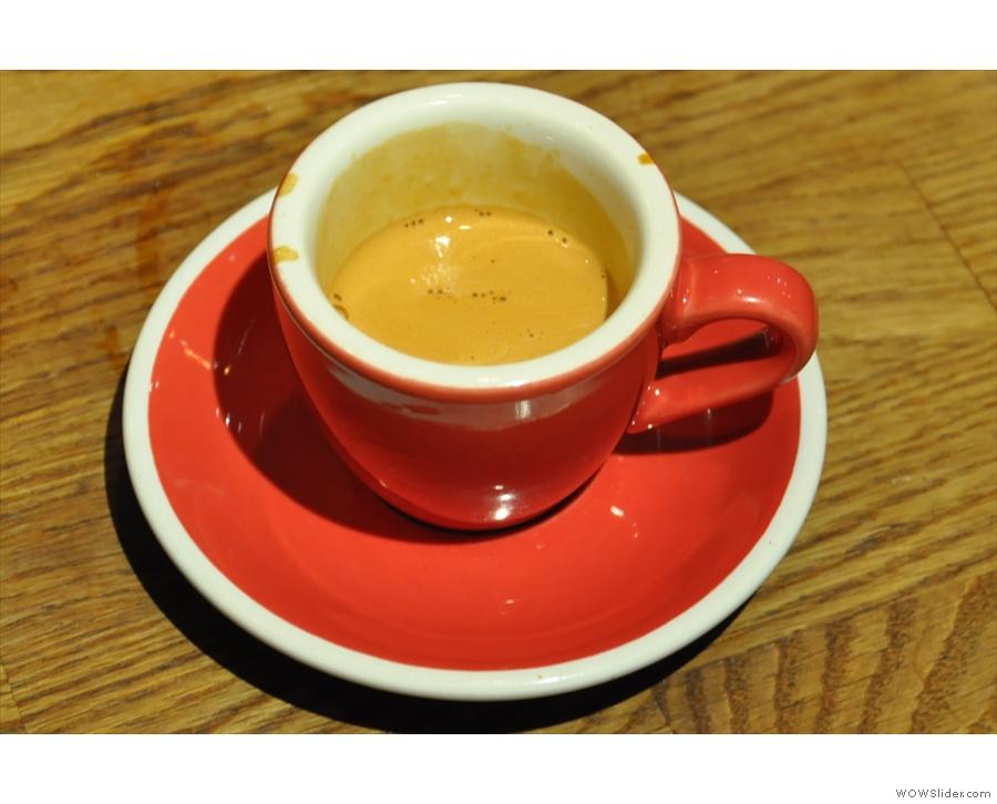 Round three: decaf espresso!