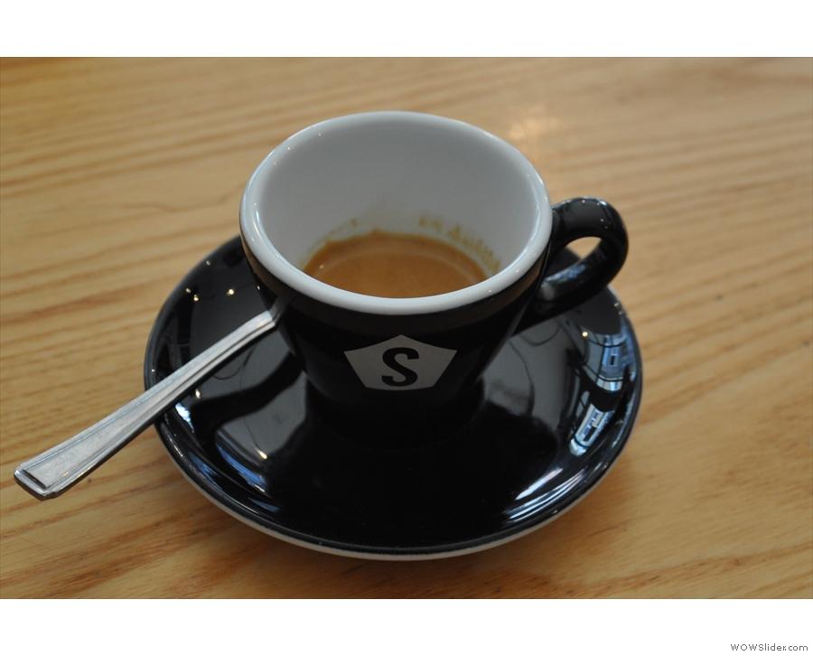 The espresso...
