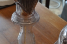 Once it's brewed, the Clever Dripper is placed on a carafe...