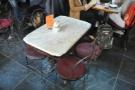 A typical Caffe Reggio table.
