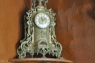 Caffe Reggio is full of interesting nick-nacks, such as this clock.