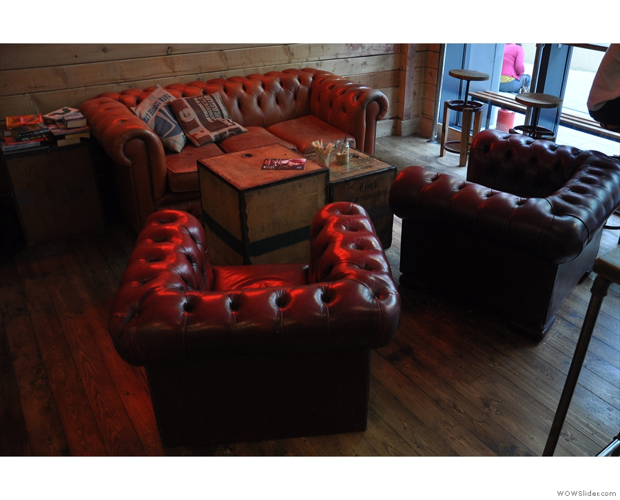 The sofa was very tempting...