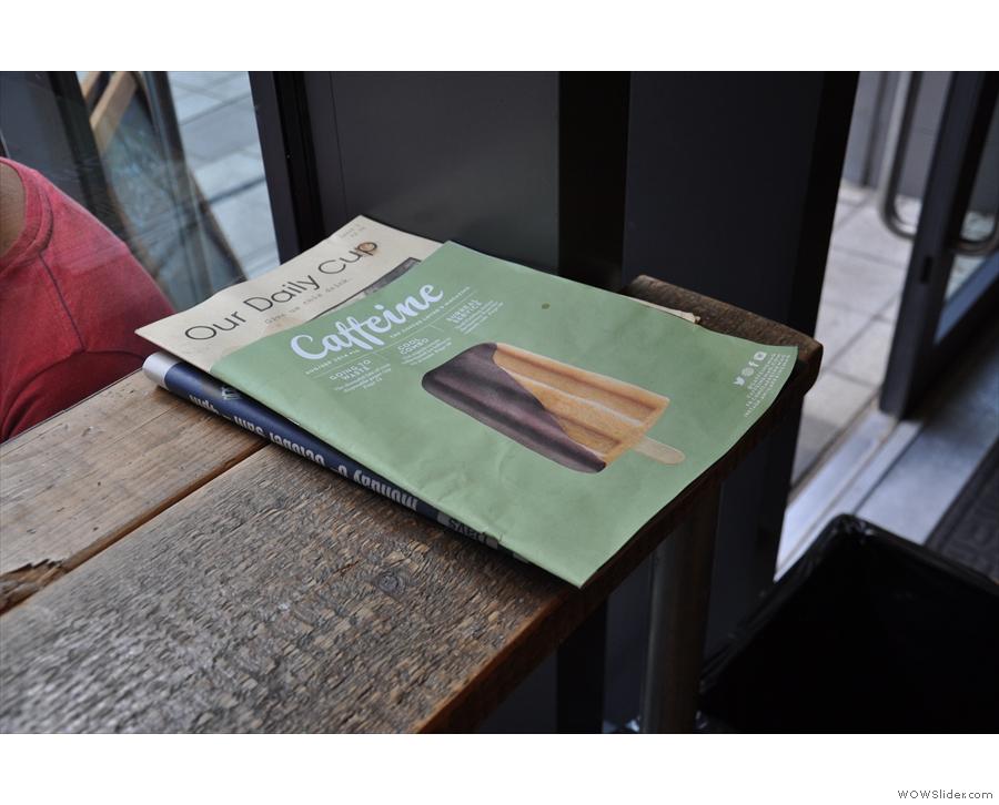 Slightly dubious taste in magazines...