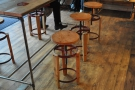 I was struck by the stools, which I really liked.