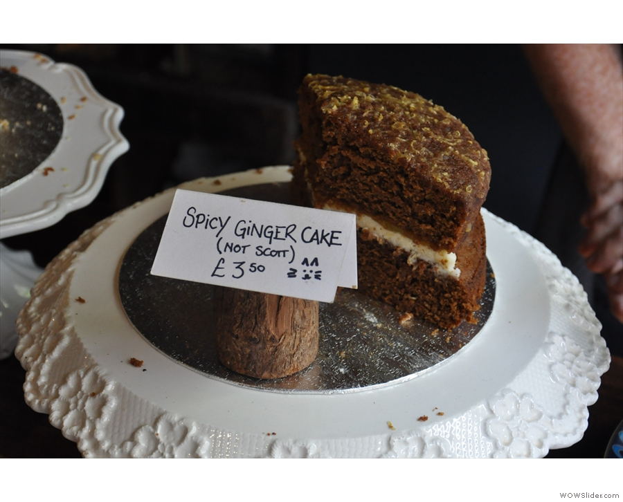 Or how about a spicy ginger cake?