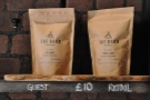 Coffee beans from guest roasters, Berlin's The Barn, are available to buy...