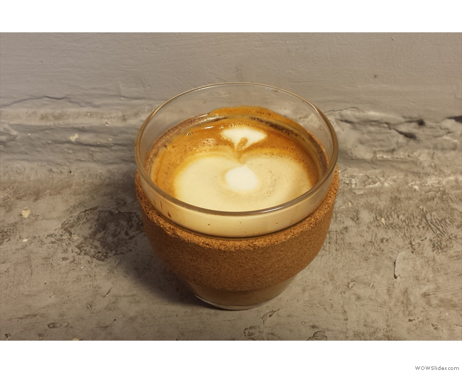On my third visit, Keep Cup got in on the act with a cortado.