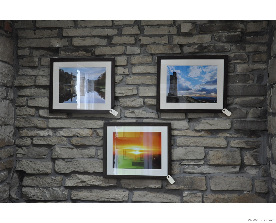 ... where you'll find these lovely photos adorning the walls. They are all for sale.
