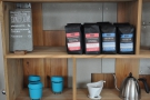 ... and who, by the way, roasts the coffee? Oh, look! JOCO Cups!