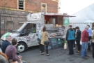 On the first day, it was Hay, serving up Latin American inspired street food...
