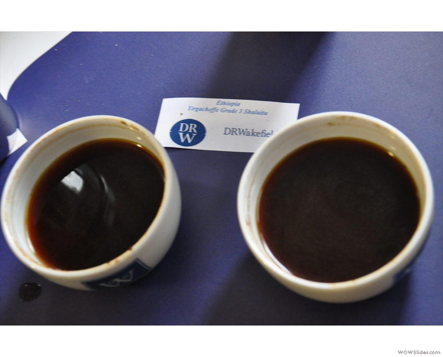 ... and the Ethiopian. For the first time ever I could really taste the individual fruits!
