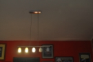 Two rooms, two obligatory light fitting shots.