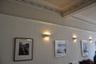 I liked the pictures on the walls and the coving.