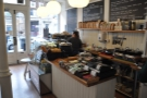 A view of the counter, looking from the back...