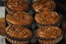 Chocolate tarts...