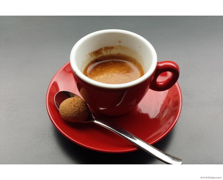 Italian-Scottish fusion, Laboratorio Espresso...