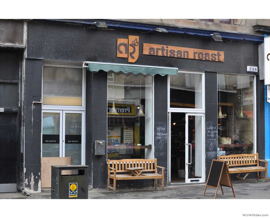 As well as the Glasgow outpost of Artisan Roast...