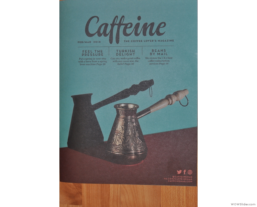 Issue 7: showing some love for Turkish Coffee and the much-overlooked ibrik.