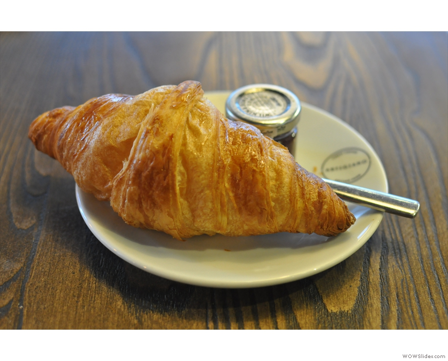 Both are worth a closer look, croissant first.