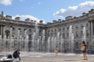 And, of course, in the summer, when the sun's out & the fountains are on, this happens...