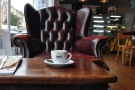 Joe's Coffee in Bristol: I immediately felt at home.