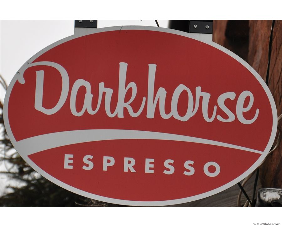 Darkhorse Espresso, a neighbourhood coffee shop waiting for the neighbourhood to arrive!