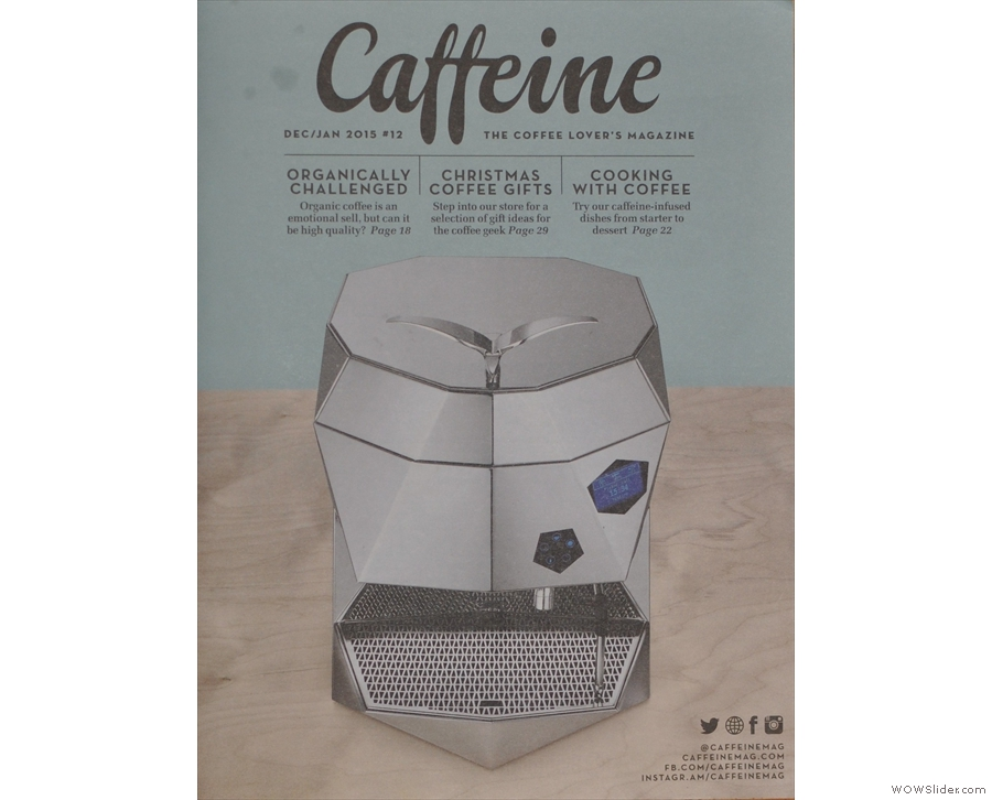 Throughout the year I kept updating my Saturday Supplement on Caffeine Magazine.