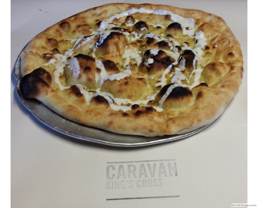 I also tried to be a foodie with an account of my dinner at Caravan King's Cross.