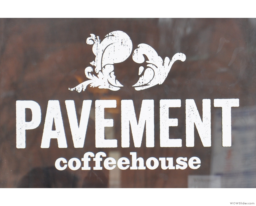 Boston's Pavement Coffeehouse in Boylston: American coffee, European feel.