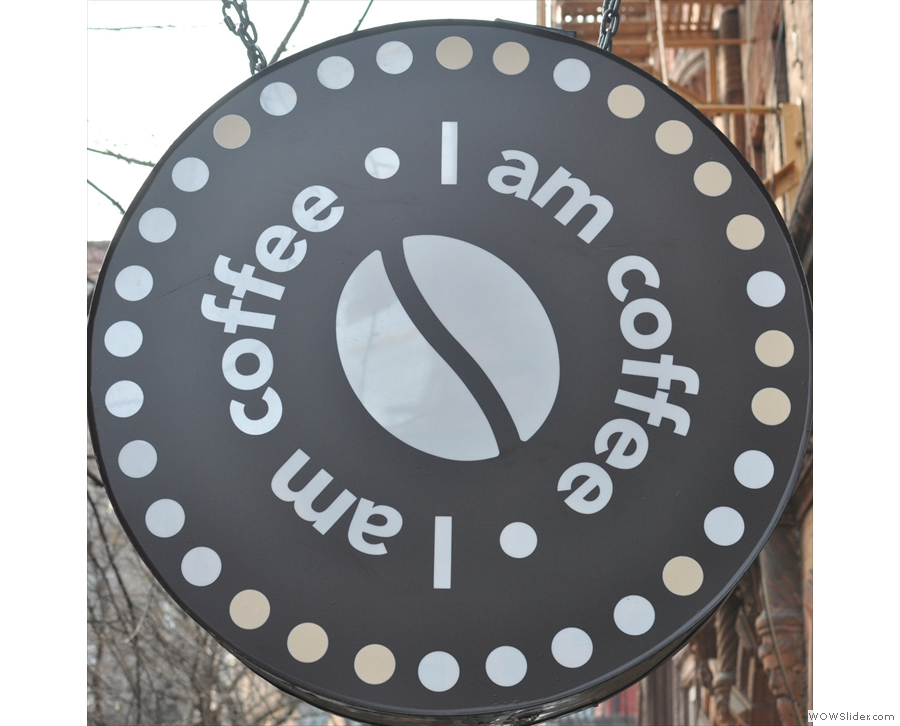Last year's winner, NYC's I Am Coffee, still as small as ever when I went back this year!