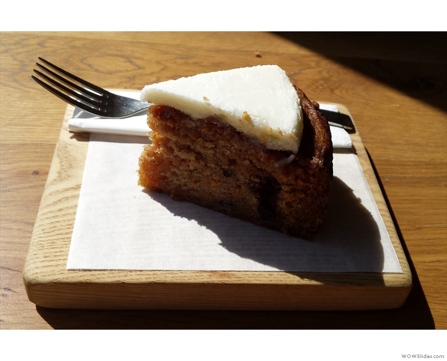 The unlikely sounding, but lovely sweet potato and mixed berry cake from Washington Tea.