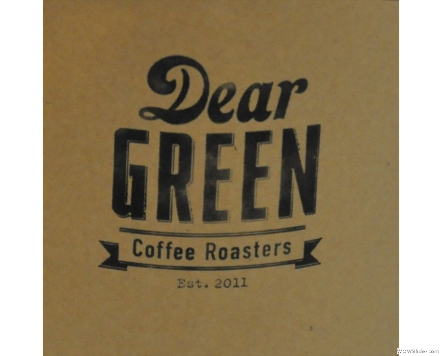 Also in Glasgow, Dear Green Coffee, a speciality coffee powerhouse in the city (& beyond!)