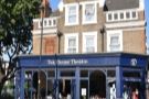 Vauxhall's Tea House Theatre, warm & welcoming; a bit like having tea in your sitting room.