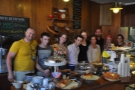 Workhouse Coffee, Reading, where the staff are very happy & I've got a photo to prove it!