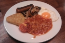 Another all-day vegetarian breakfast, this time from Cafe at 36 in Exeter.