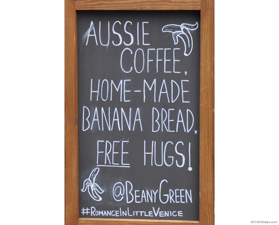 Since I tweet about Beany Green in Paddington ALL THE TIME, I'm not that surprised!