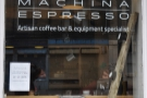 Machina Espresso, Edinburgh: Brian's Coffee Spot Special Award