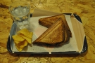 I went for a toastie by the way, which also came with its own glass of water.
