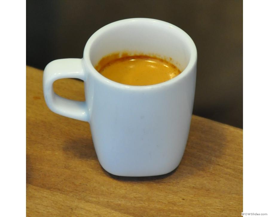 My espresso in detail.